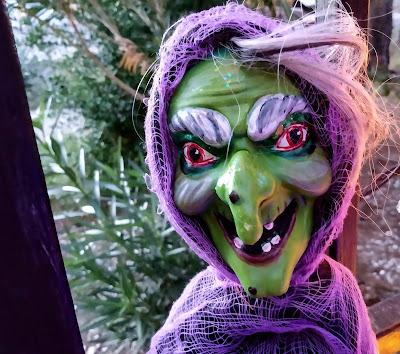 redo upcycle dollar tree witch