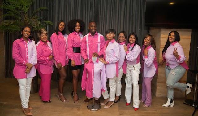 Recaudan fondos para  apoyar pacientes que luchan  contra el cáncer de mama.