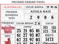 PREDIKSI INDONESIA JUMAT, 22 OCTOBER 2021