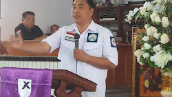 Warga PKB Gmim Sion Ranomut Percayakan James Karinda Ketua PKB Yang Baru