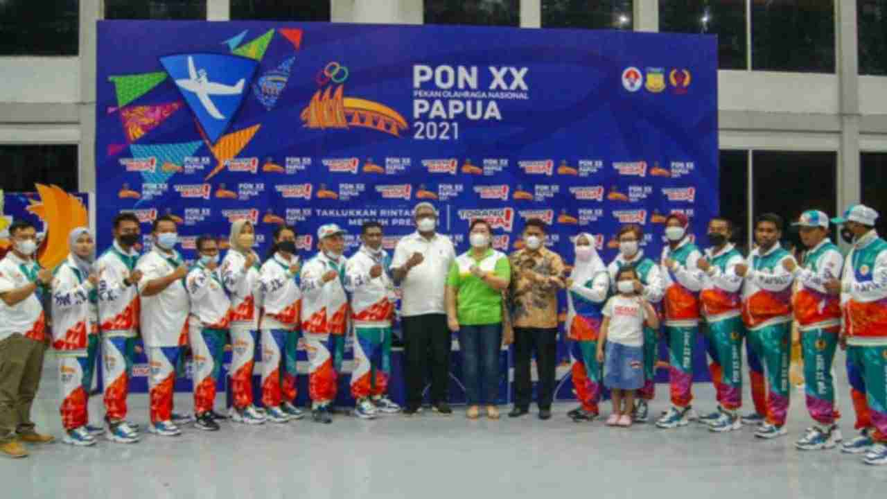 Kontingen Papua Juara Umum Cabang Olahraga Terbang Layang PON XX