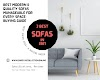 3 Best modern & quality Sofas manageable for every space: Buying Guide