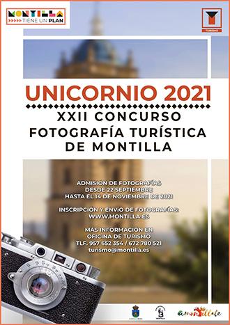 XXII CONCURSO DE FOTOGRAFÍA TURÍSTICA DE MONTILLA - PREMIO UNICORNIO 2021