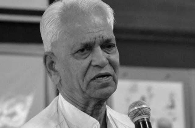 चंबल के गांधी के नाम से पुकारे जाने वाले एसएन सुब्बाराव का निधन