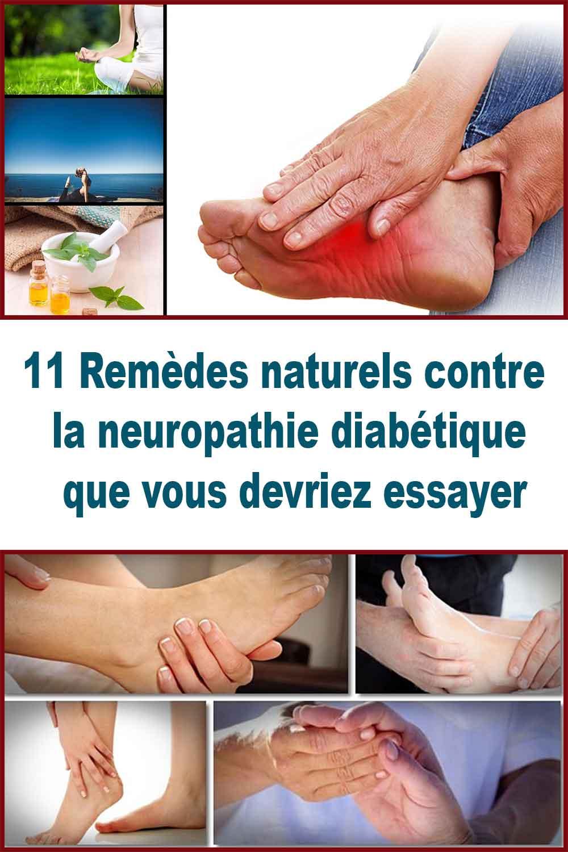 11 Remèdes naturels contre la neuropathie diabétique que vous devriez essayer