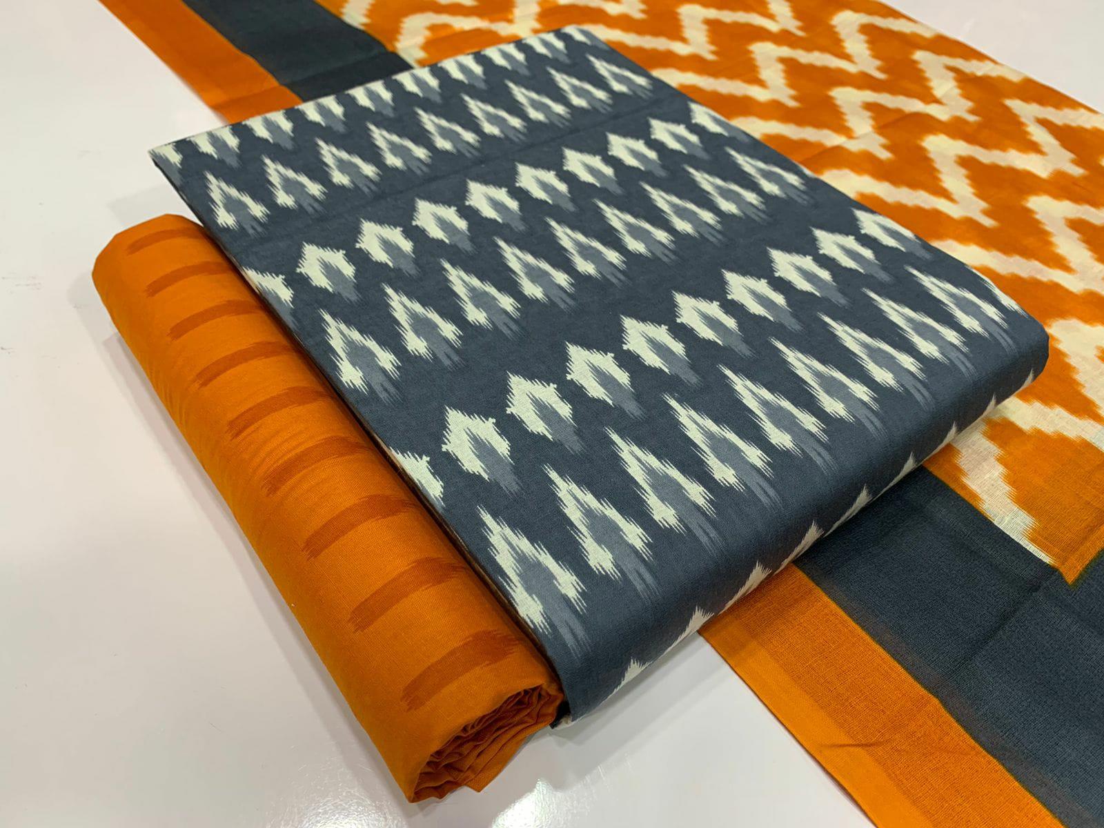 Suresh Soft Cotton Special Ikkat Salwar Suits Catalog Lowest Price