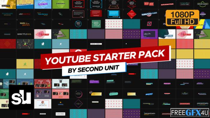 Youtube Starter Pack 4K