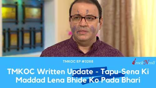 TMKOC-Written-Update-Tapu-Sena-Ki-Maddad-Lena-Bhide-Ko-Pada-Bhari