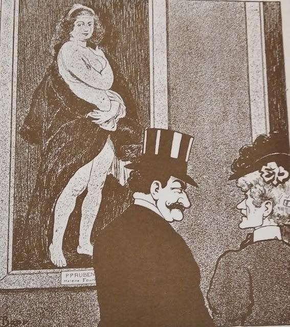 перед картиной Рубенса