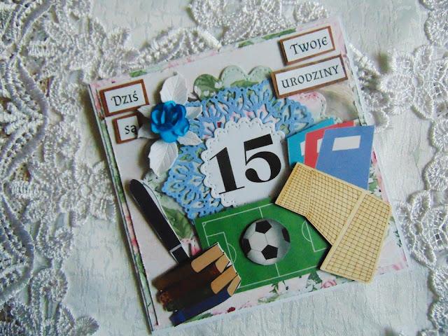 Dwie karteczki urodzinowe dla chłopców