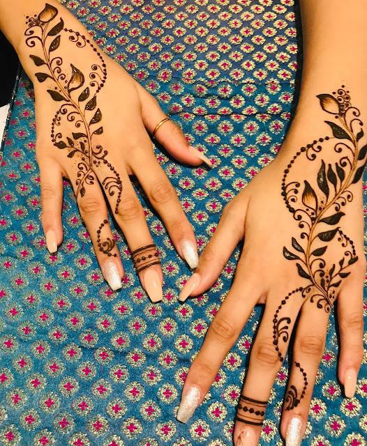 Gorgeous Mehendi Designs For Karwa Chauth