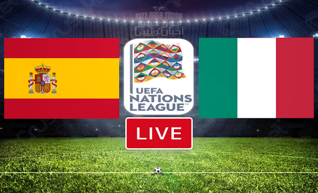Watch Match Italy vs Spain Live Streaming UEFA Nations League