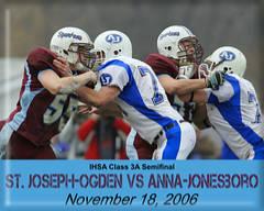 St. Joseph-Ogden football playoff game from 2006