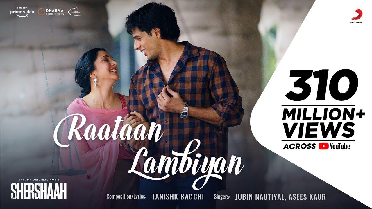 Raataan Lambiyan Lyrics – Shershaah | Jubin Nautiyal & Asees Kaur