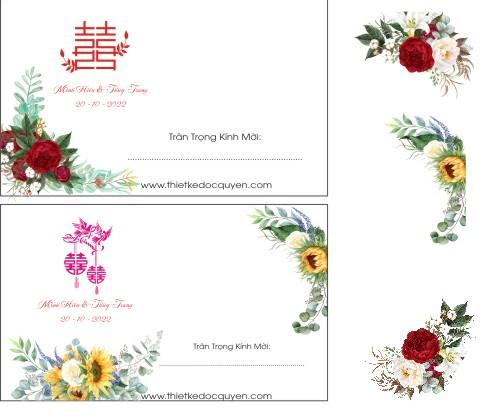 File thiệp cưới đẹp CDR