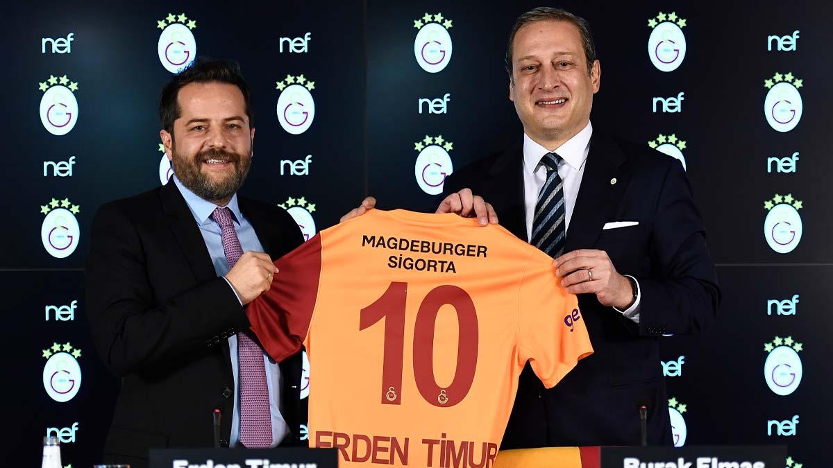 Galatasaray'da dev anlaşmanın bir kısmı Spor Müdürlüğü'ne gidecek...