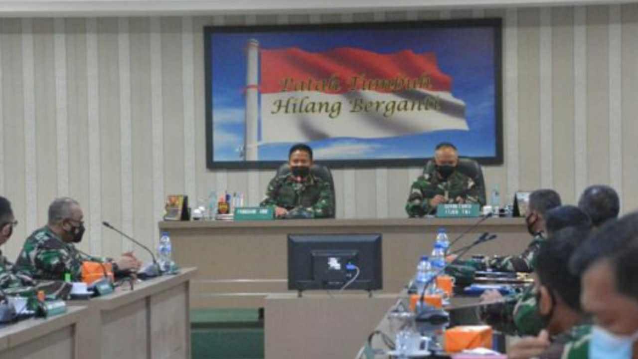Pangdam I/BB Pimpin Taklimat Awal Pelaksanaan Audit Kinerja Itjen TNI Periode IV TA 2021 di Wilayah Jajaran Kodam I/BB