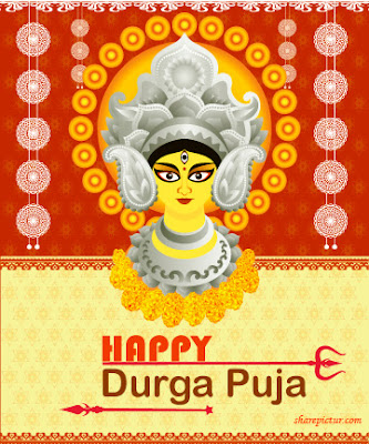 Happy durga puja photo download