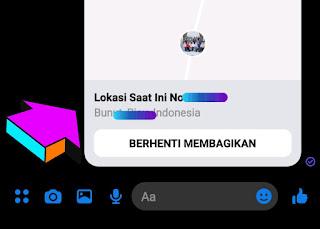 Cara Membagikan Lokasi di Facebook Messenger