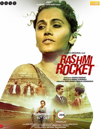 Rashmi Rocket (2021) HDRip Hindi Movie Download - Mp4moviez