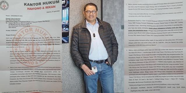Jejak Digital Kuasa Hukum Penggugat Masjid At Tabayyun: Dari Kasus Penggelapan Uang Klien Hingga Pemalsuan Data Warga