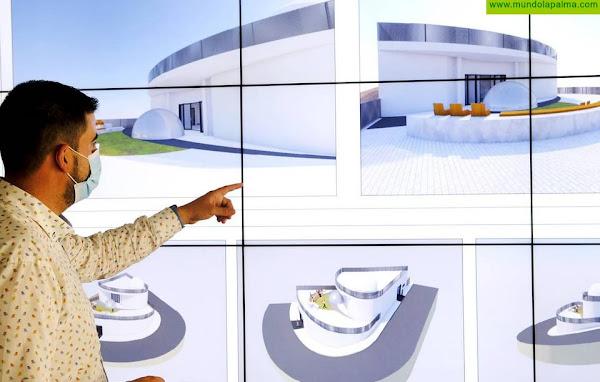 El Cabildo recibe el proyecto del Museo de la Historia de la Astrofísica de Garafía