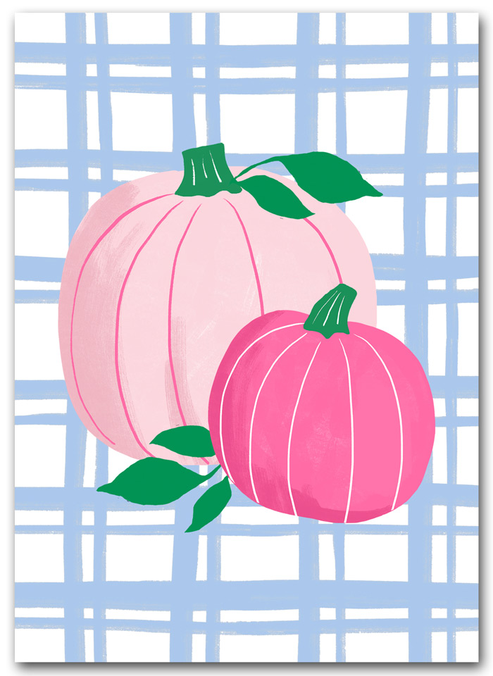 Pink Pumpkins Printables
