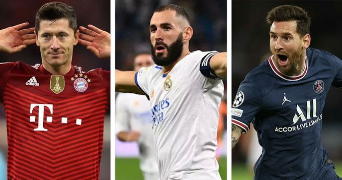 Ballon d'Or candidate: Benzema move to top 3