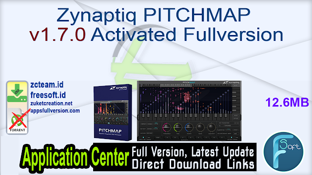 Zynaptiq PITCHMAP v1.7.0 Activated Fullversion