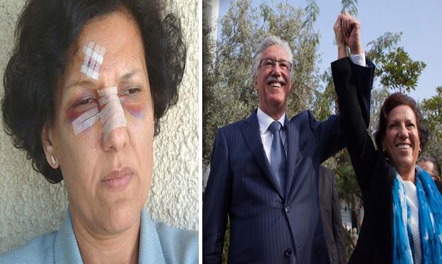 tunisie radhia nasraoui حمة الهمامي يكشف الحالة الصحية لراضية النصراوي