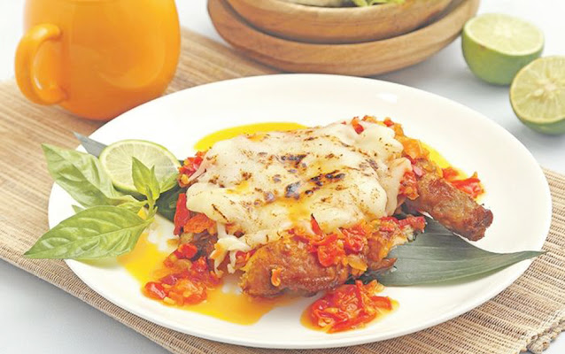 Resep Rahasia Caffe Ayam Geprek Spicy Melting Cheese
