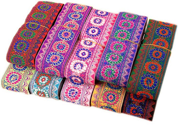Jacquard Ribbons For DIY Clothing Accessories