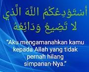 Doa Orang Musafir kepada Orang yang Ditinggalkan