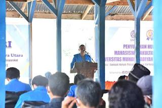 Kuliah Jurusan Hukum di UMSU, Bakhtiar Ahmad Sibarani Lakukan KKN Mandiri Dan Penyuluhan Hukum Di Tapanuli Tengah