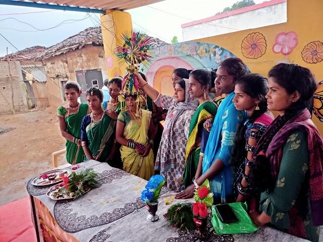 ग्रामीणों को स्वच्छता की अनोखी प्रतियोगिता आयोजित की गई   Gramin ko swachchta ki anokhi pratiyogita