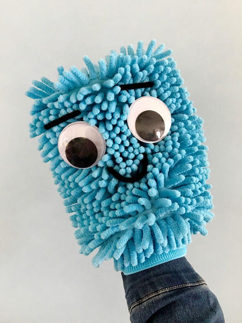 Monster puppet craft