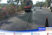 Terus Dikebut, Pelebaran Jalan Nasional Bojonegoro Ditahap Pengaspalan