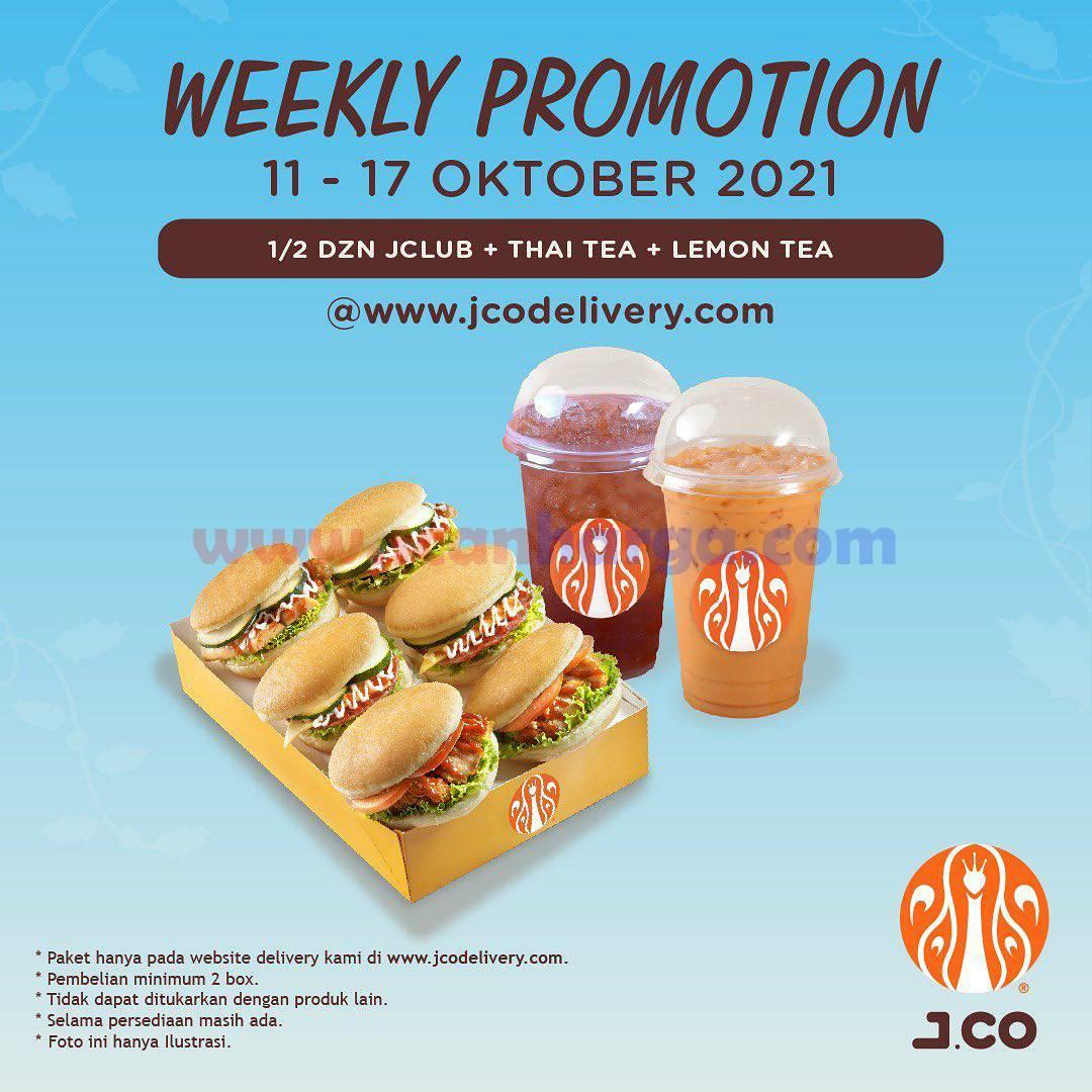 Diskon Promo JCO Minggu Ini | 11 - 17 Oktober 2021 3