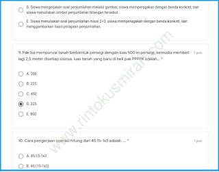 SOAL DAN KUNCI JAWABAN TRYOUT PPPK TAHAP 2 BERSAMA RINTO KUSMIRAN BAGIAN 4 PDF