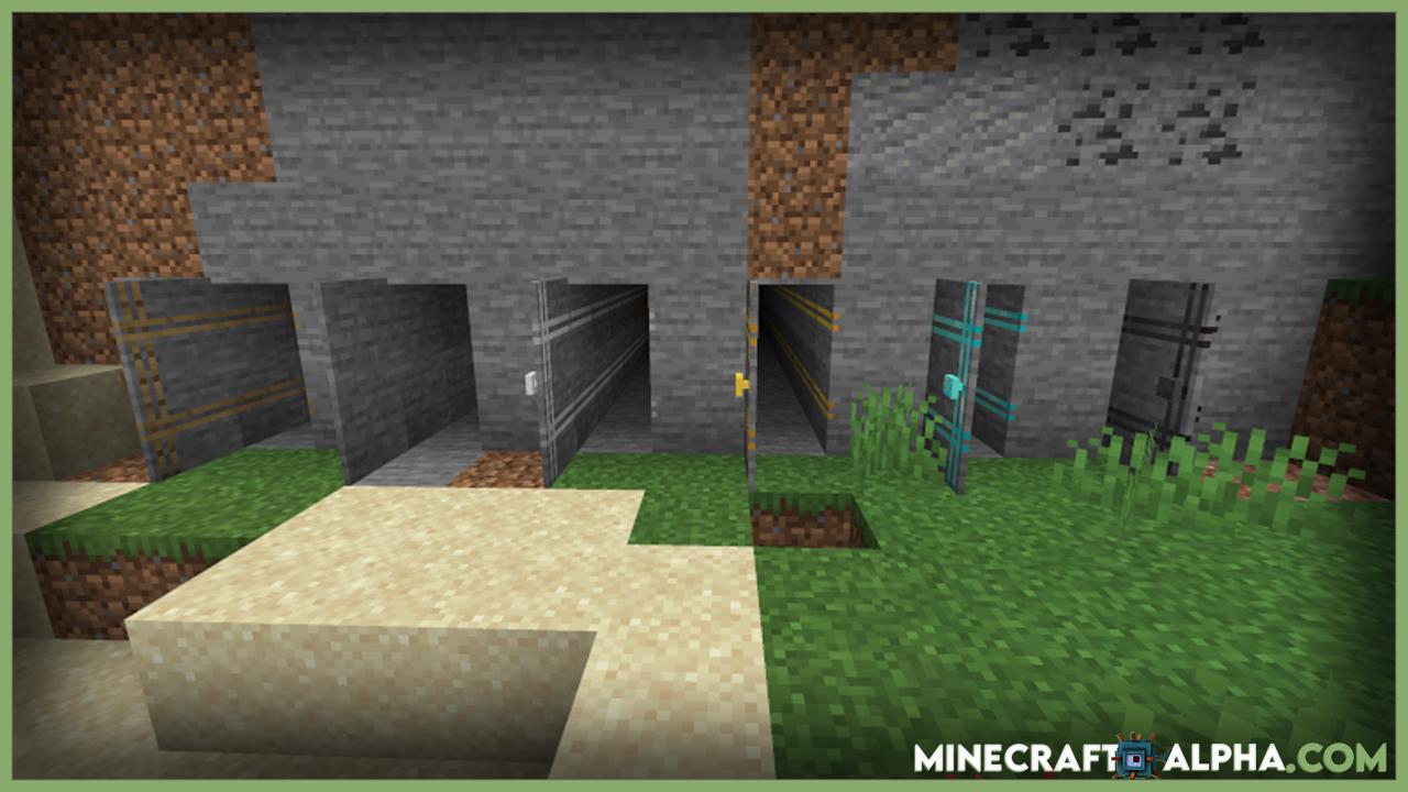 Magic Doorknob Mod 1.17.1 (Doorway, Tunnel, Travel)