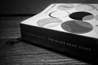 Spine of the book 'The Glass Bead Game' by Herman Hesse