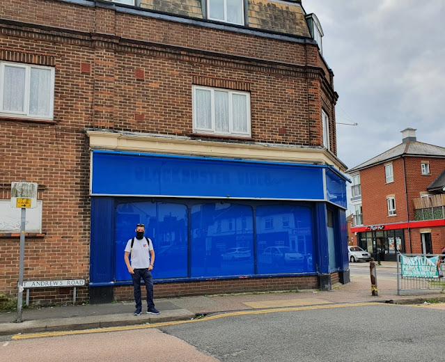 Blockbuster Video Express in Clacton-on-Sea, Essex