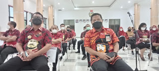 BPJS Ketenagakerjaan Cabang rapat bersama pemda Gowa di rangkaikan denga Berikan Santunan kepada ahli waris 42 Juta