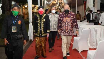 LaNyalla di Festival Adat Kerajaan Nusantara I