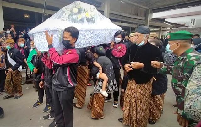 Adik Ipar Raja Solo Wafat, Bos Wong Solo Group Ikut Berduka Cita