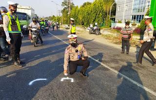Tabrak Truk Parkir di Jalinsum Tanjungmorawa, Aipda Luhut Munthe Meninggal