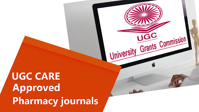 UGC approved Pharmacy journals