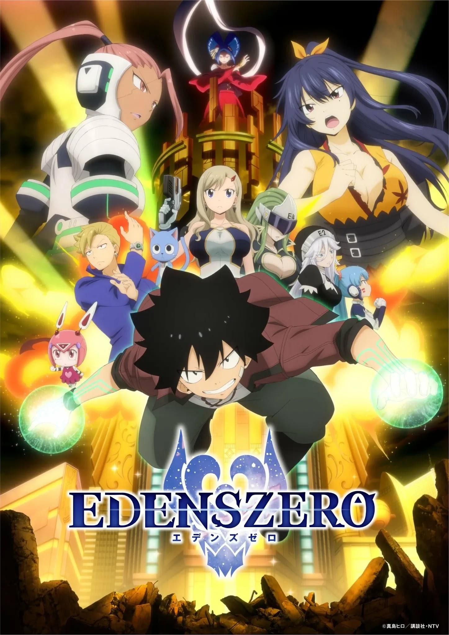 Anime Edens Zero Confirma morte do seu Diretor