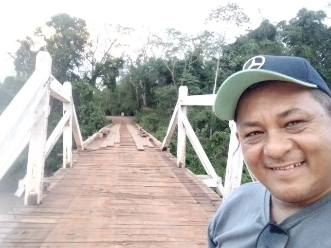 Prefeito Alex Berto contrata por 30 dias ex- vereador Tito para  manutenção  nas estradas vicinais da Forquilha e atende pedido da vice –prefeita Meire Borges