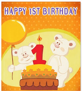 Happy 1st Birthday Wishes for Boy and Girl and Grandchild